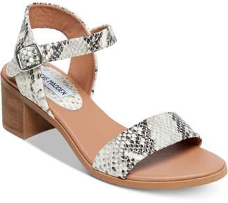 Steve Madden Women's April Block-Heel Dress Sandals