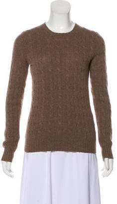 Ralph Lauren Cashmere Cable Knit Top