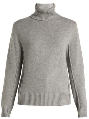 Chloé Iconic Cashmere Turtleneck Sweater - Womens - Light Grey