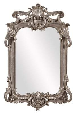 Astoria Grand Antique Silver Leaf Accent Mirror