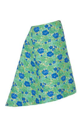 Jil Sander Falsetto Floral Midi Skirt