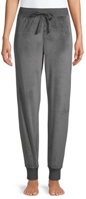 Secret Treasures Essentials Women's and Women's Plus Velour Jogger
