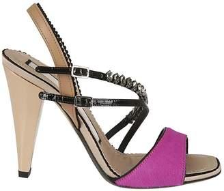 N°21 N.21 Strappy Slingback Sandals