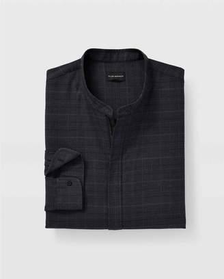 Club Monaco Glen Plaid Zip-Front Shirt