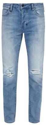Neuw - Iggy Ripped Skinny Jeans - Mens - Blue