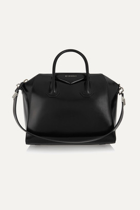 Givenchy - Medium Antigona Bag In Black Leather - one size $2,450 thestylecure.com