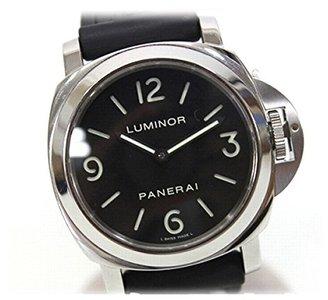 Panerai [パネライ ルミノールベース 裏スケ SS 手巻き メンズ腕時計 PAM00112 KK [中古]