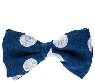 Black Vasari Cashmere Bow Tie