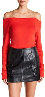 Splendid Off-the-Shoulder Bodysuit