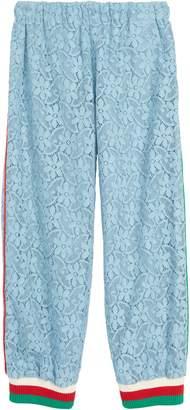 Gucci Lace Jogger Pants