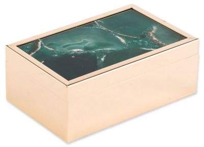 Zuo® Agate Pattern Small Box in Green