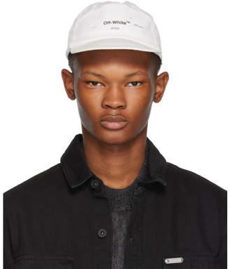 Off-White White Logo Snap Cap