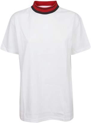 Calvin Klein Mock Neck T-shirt