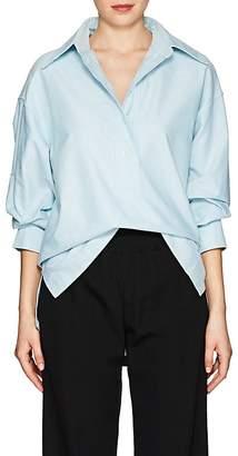 Marc Jacobs Women's Cotton Oxford Cloth Oversized Blouse