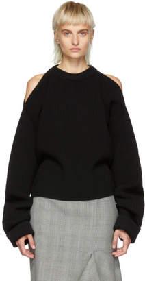 Stella McCartney Black Extended Sleeves Sweater