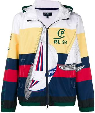 Polo Ralph Lauren Sailing print windbreaker