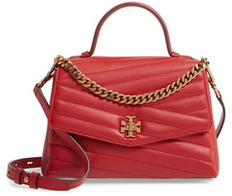 Tory Burch Kira Chevron Quilted Leather Top Handle Satchel