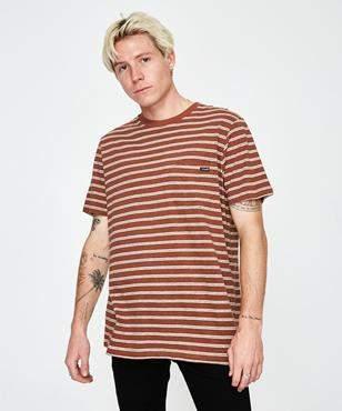 Wrangler Every Street T-shirt Dirt Stripe
