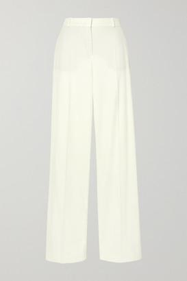 Loro Piana Cashmere-blend Wide-leg Pants - Cream