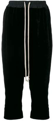 Rick Owens low rider cropped trousers
