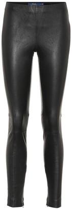 Polo Ralph Lauren Leather leggings