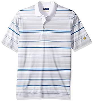 Jack Nicklaus Men's Short Sleeve Staydri Ombre Stripe Print Polo