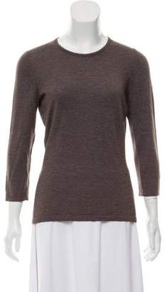 Oscar de la Renta Cashmere-Blend Top w/ Tags