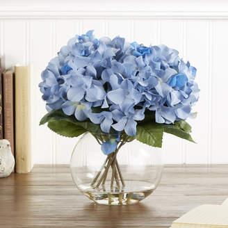 Birch Lane Faux Blue Hydrangea Bloom