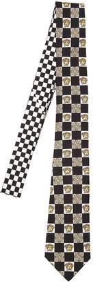 Versace 7cm Medusa Silk Twill Tie