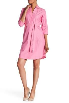 Foxcroft 3/4 Length Sleeve Shirt Dress