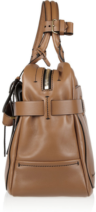 Reed Krakoff Fighter leather bowling bag