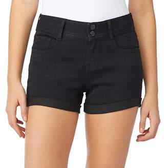 Wallflower Juniors' WallFlower Ultra Mid-Rise Shorts