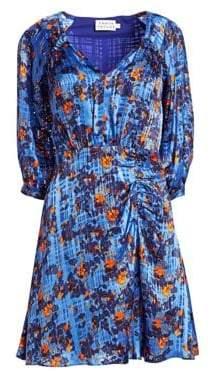 Tanya Taylor Natalie Popover Flare Dress