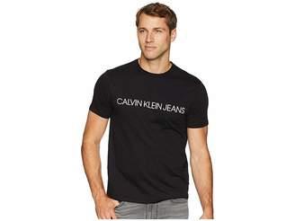 Calvin Klein Jeans Short Sleeve Klein Font Logo Tee