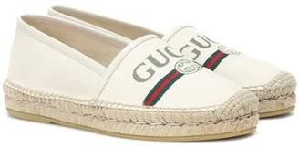 Gucci Logo espadrilles