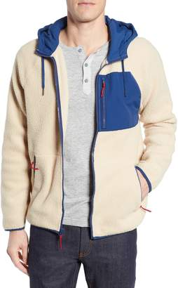 J.Crew Classic Fit Hooded Fleece Jacket