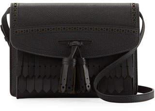 Burberry Small Macken Broguing Tassel Shoulder Bag
