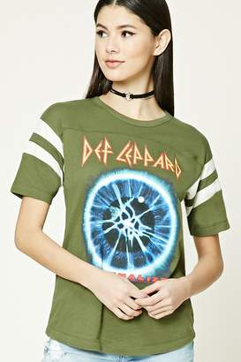 Forever 21 Def Leppard Graphic Tee