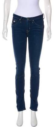 G Star Arc 3D Skinny Low-Rise Jeans