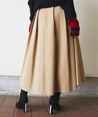 Aula Aila (アウラ アイラ) - [Aula Aila] Tuck Long Skirt(1184-07081)