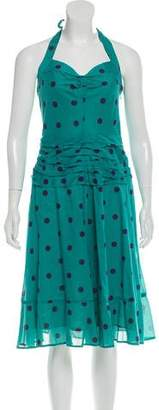 Marc by Marc Jacobs Polka Dot Halter Dress