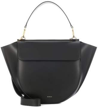 Hortensia Wandler Big leather shoulder bag