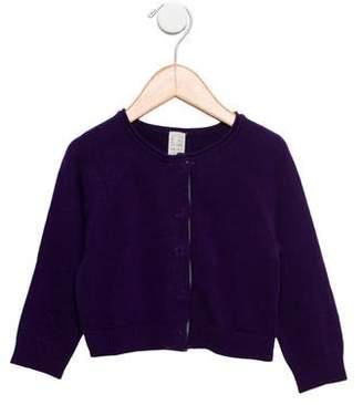 Tia Cibani Girls' Wool Long Sleeve Cardigan w/ Tags