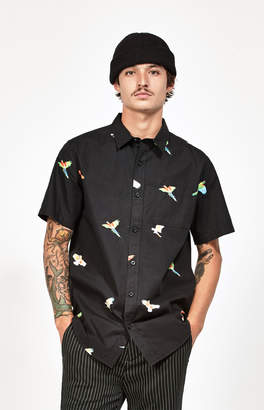Pacsun Flight Classic Short Sleeve Button Up Shirt