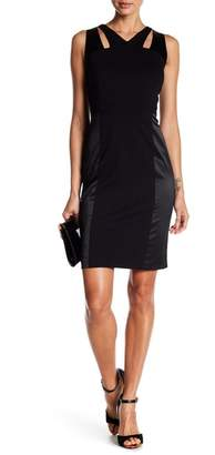 Nine West Back Slit Front Cutout Dress