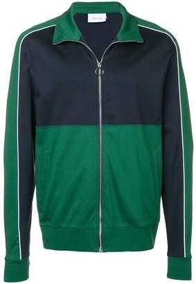 Calvin Klein bonded jersey zip jacket