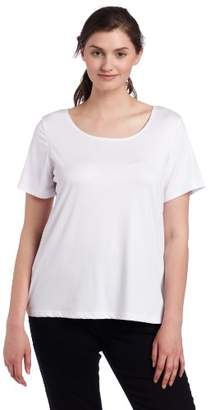 Notations Women's Plus Round-Neck T-Shirt