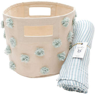 Pehr Designs Pom Pom Baby Gift Set - Blue