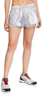 adidas by Stella McCartney Metallic Running Shorts