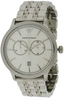 Giorgio Armani Emporio Classic Stainless Steel Mens Watch AR1796